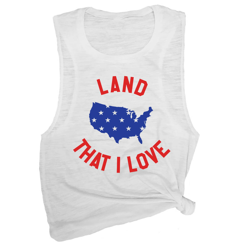 Land That I Love Muscle Tee