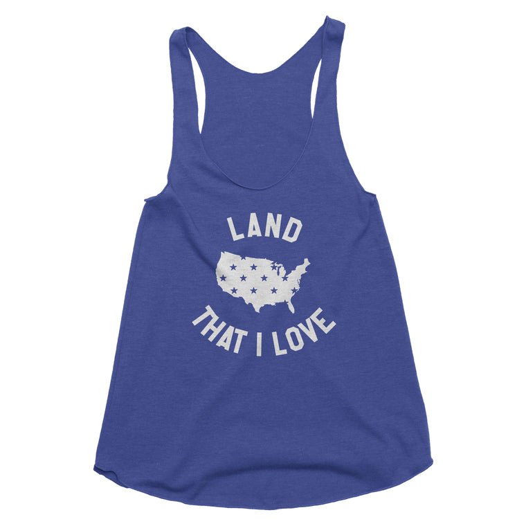 Land That I Love Tank Top