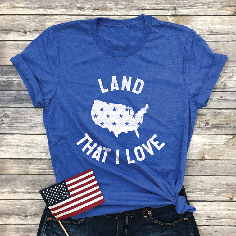 Land That I Love Basic Tee