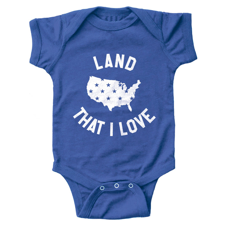 Land That I Love Infant Bodysuit