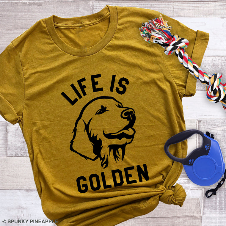 Life is Golden Premium Unisex T-Shirt