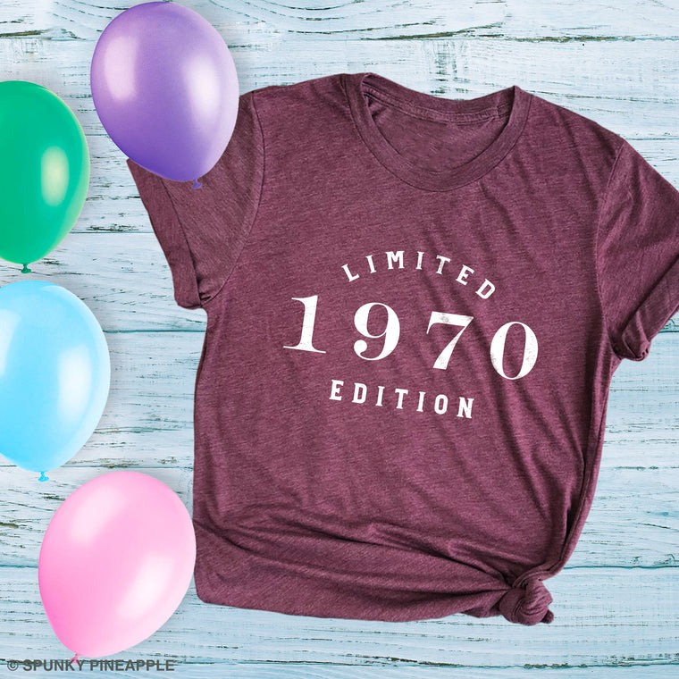 Limited Edition 1970 Premium Unisex T-Shirt