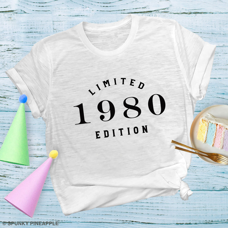 Limited Edition 1980 Premium Unisex T-Shirt