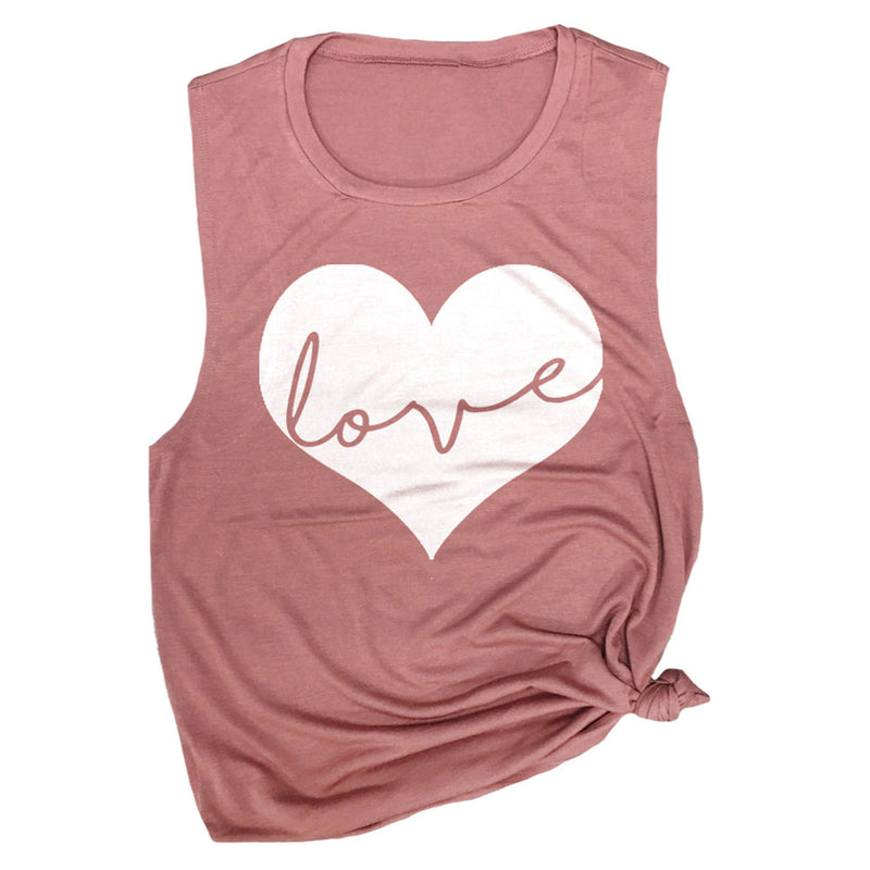 Love Heart Muscle Tee