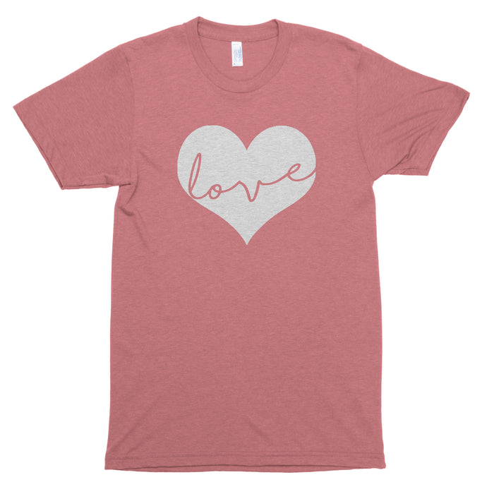 Love Heart Basic Tee