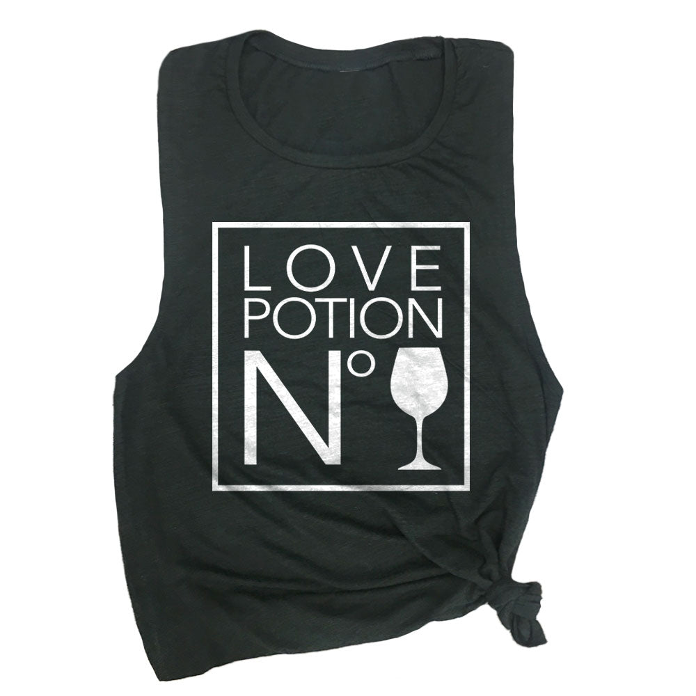 Love Potion No. Wine Muscle Tee