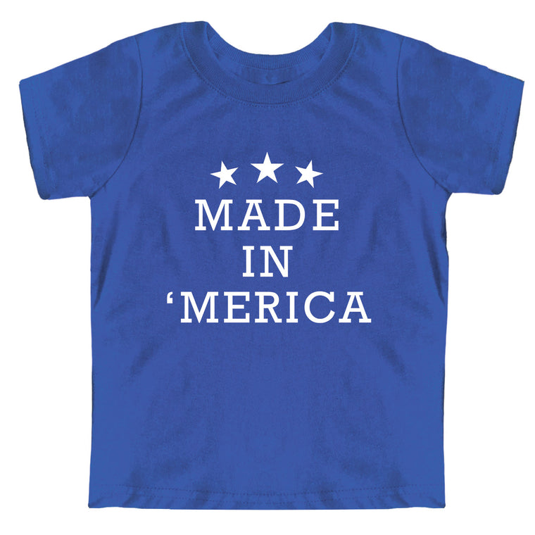 Made in 'Merica Toddler Jersey Tee