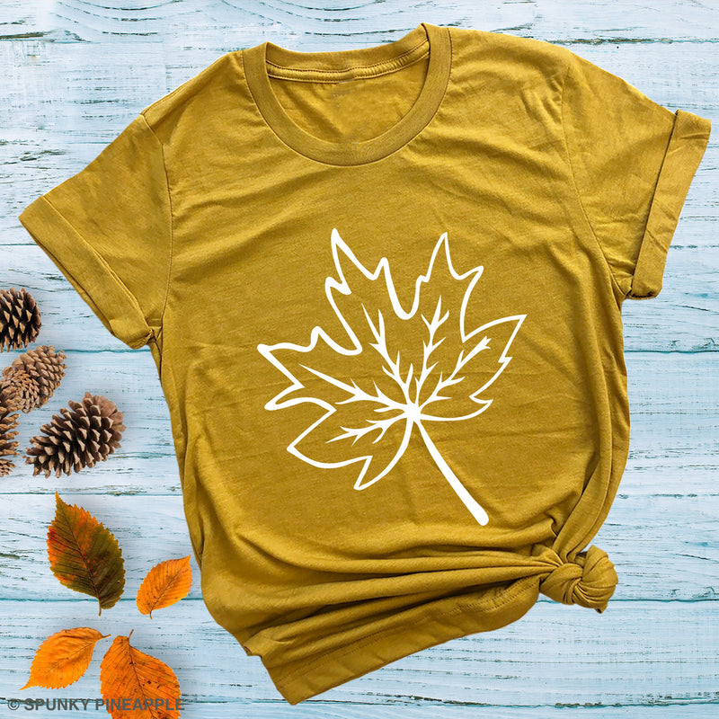 Maple Leaf Premium Unisex T-Shirt