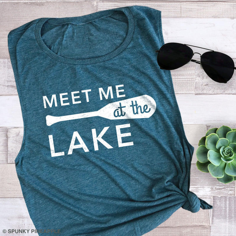 Meet Me at the Lake Muscle Tee