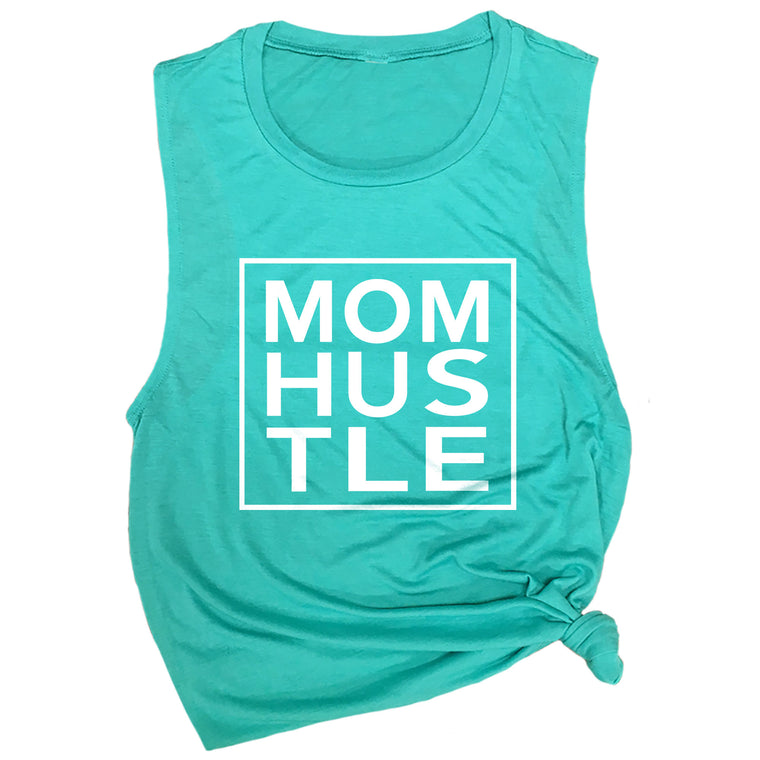 Mom Hustle Muscle Tee