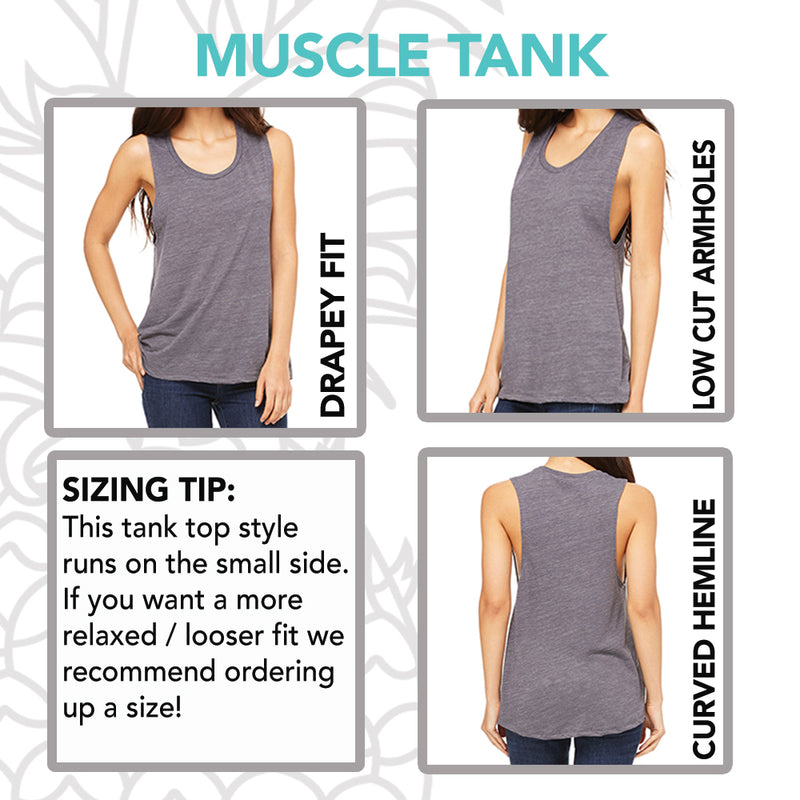 Sweat Your Asana Off Muscle Tee
