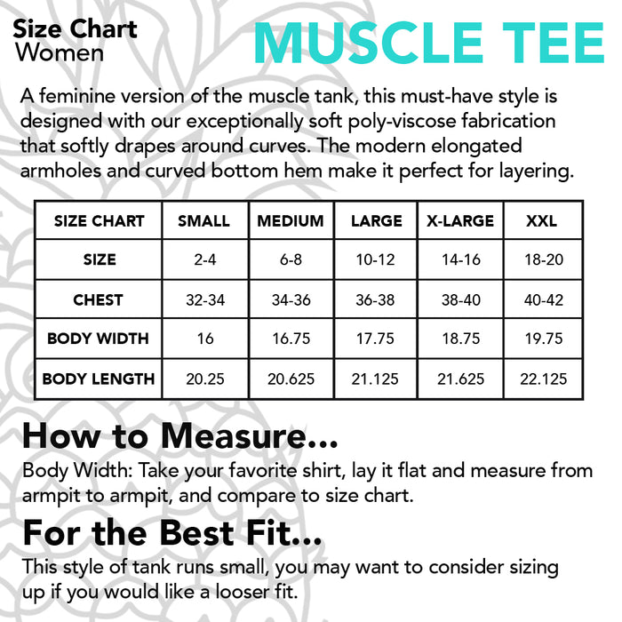 Barre Belle Muscle Tee