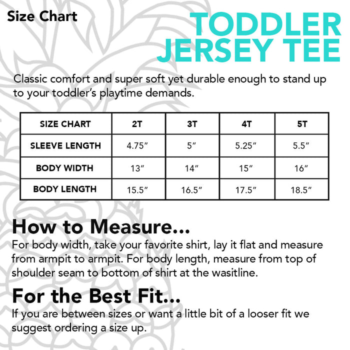 Smalls Toddler Jersey Tee
