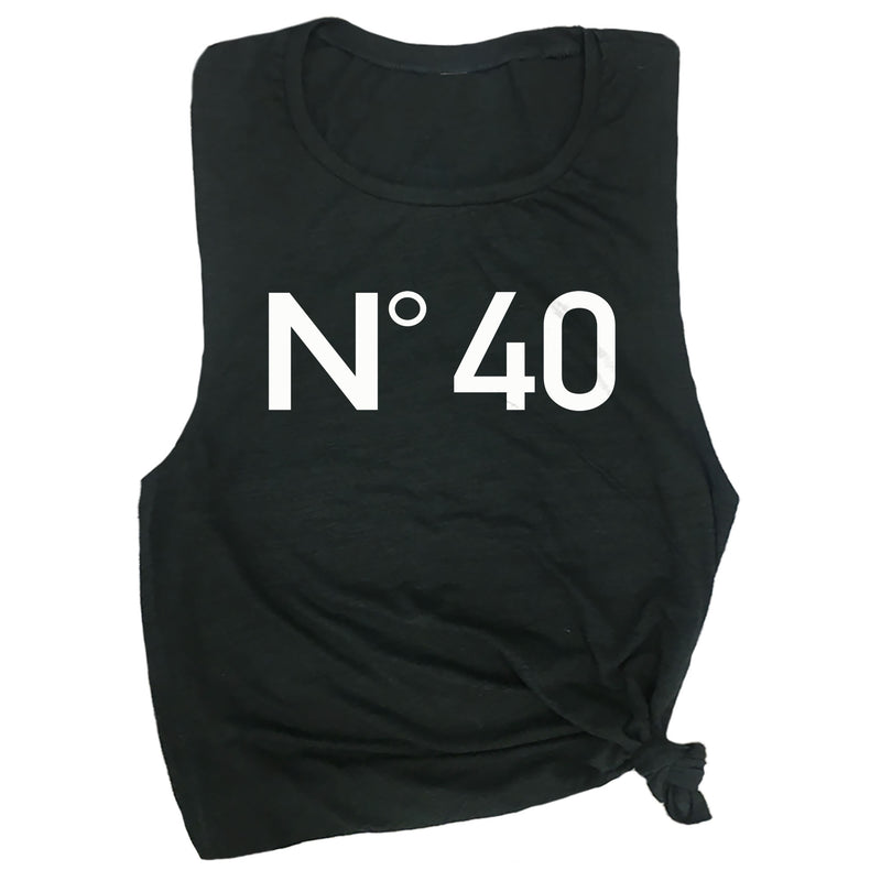 No 40 Muscle Tee
