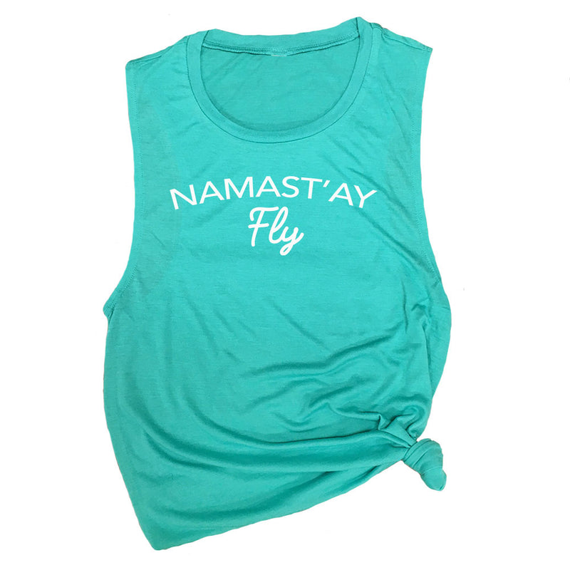 Namast'ay Fly Funny Barre Workout Tank
