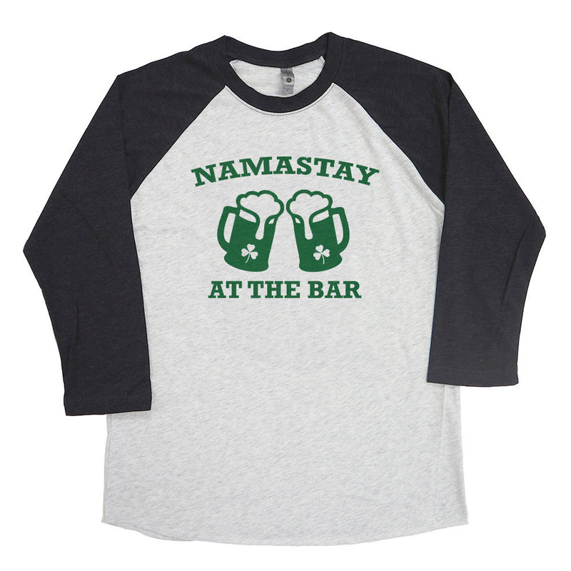 Namastay at the Bar Raglan Tee