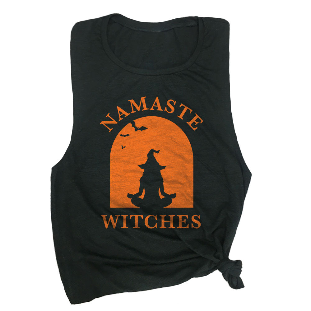 Namaste Witches Muscle Tee