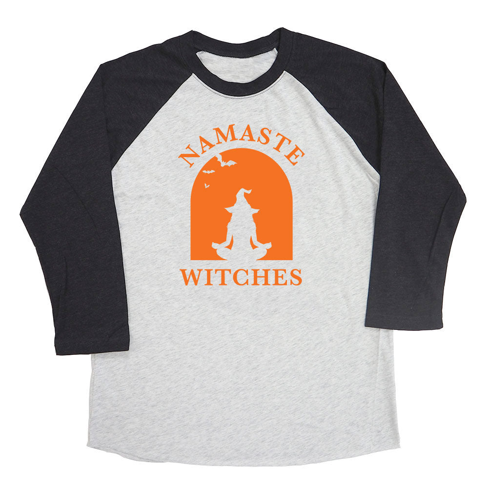 Namaste Witches Raglan Tee
