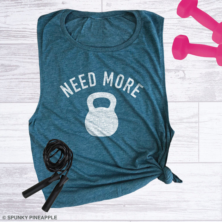 Need More Kettlebell Muscle Tee