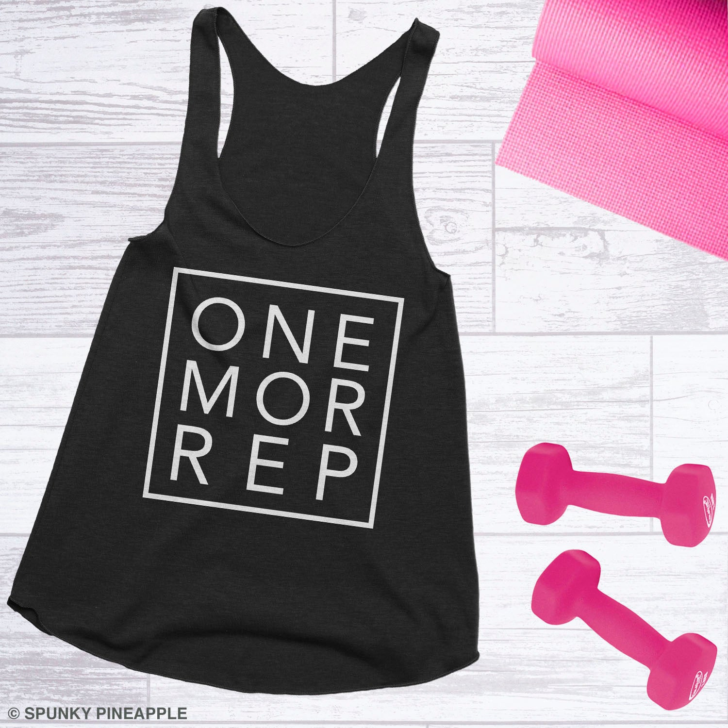 One More Rep Women's Weightlifting Workout Tank Top