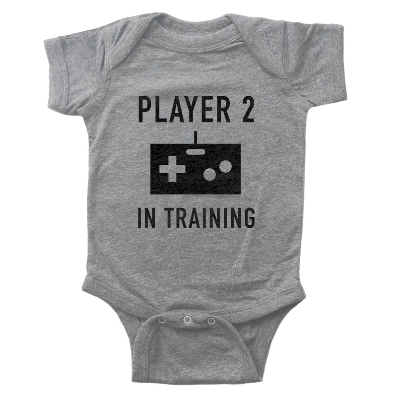 Player 2 in Training Infant Bodysuit