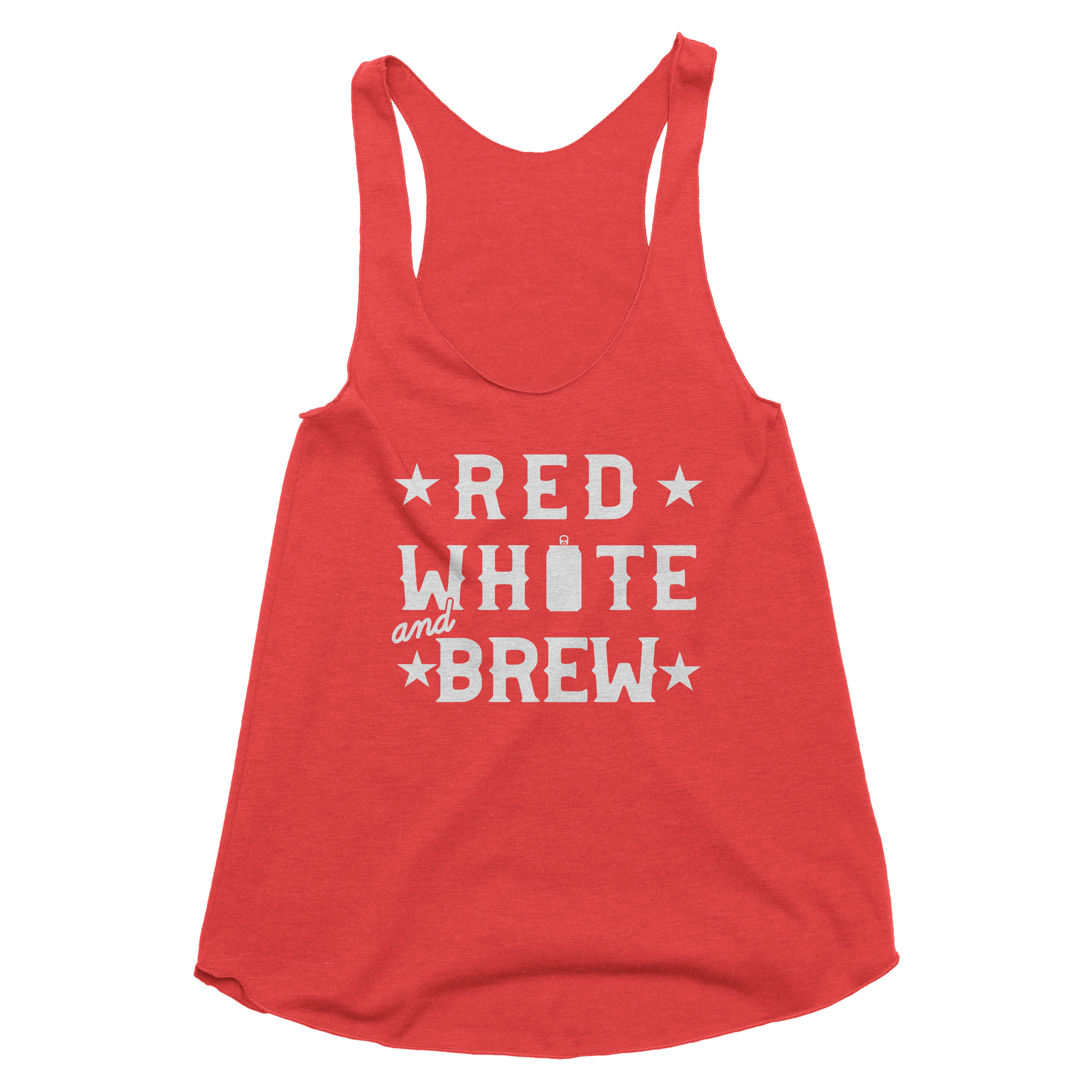 Red, White & Brew Tank Top