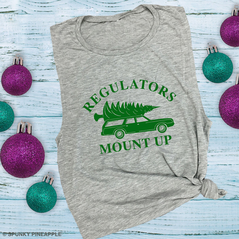Regulators Mount Up Muscle Tee