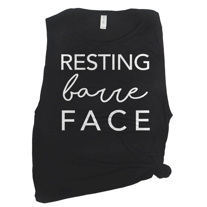 Resting Barre Face Muscle Tee