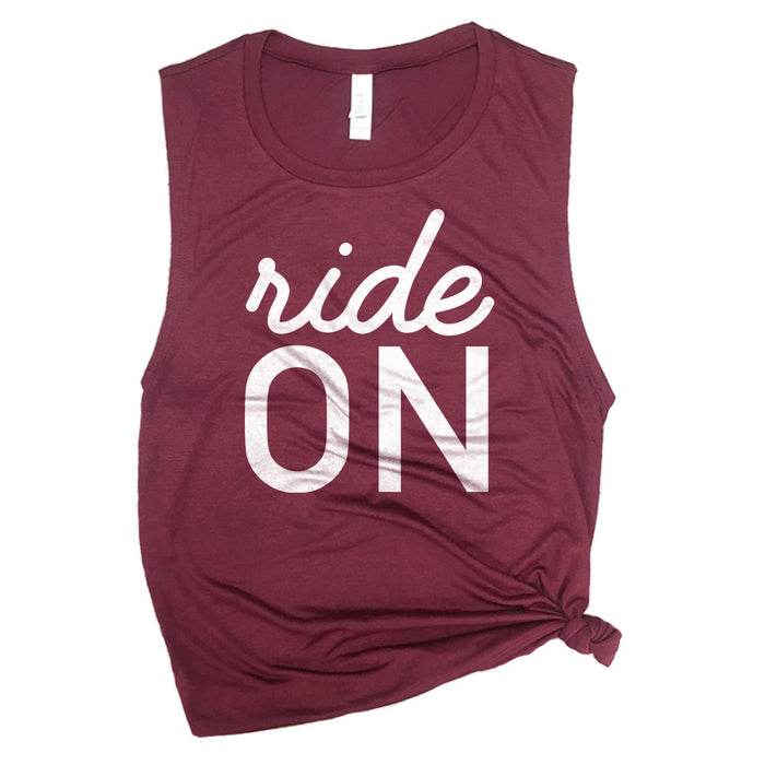 Ride On Muscle Tee