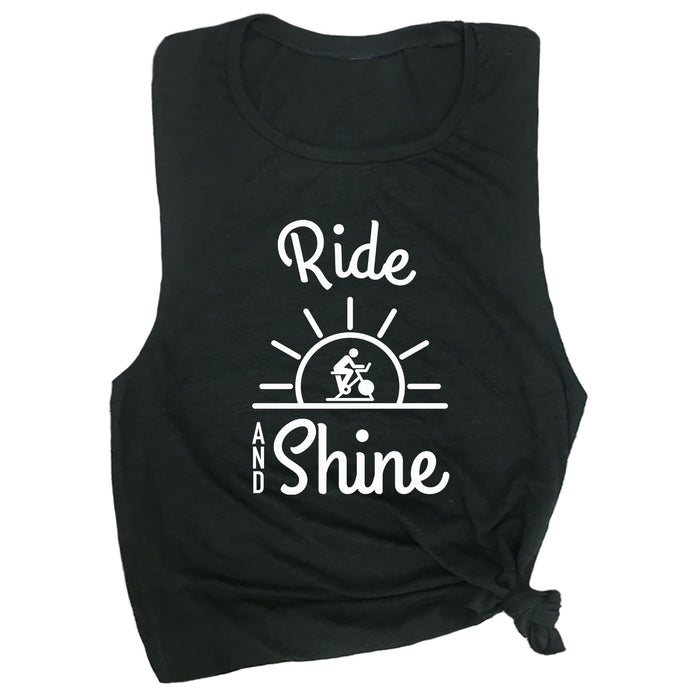 Ride & Shine Muscle Tee