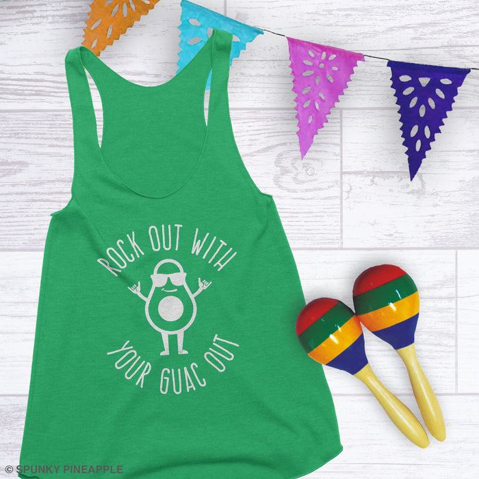 Rock Out with Your Guac Out Tank Top