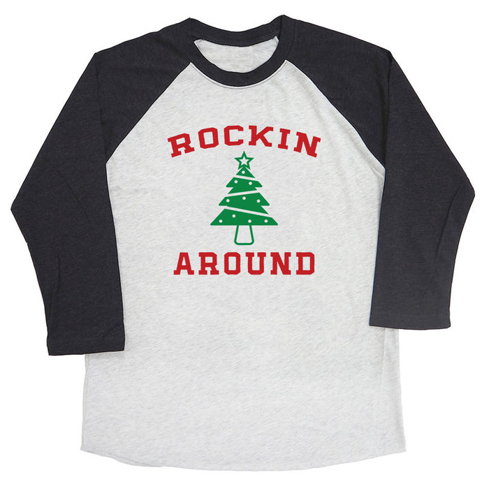 Rockin Around Raglan Tee