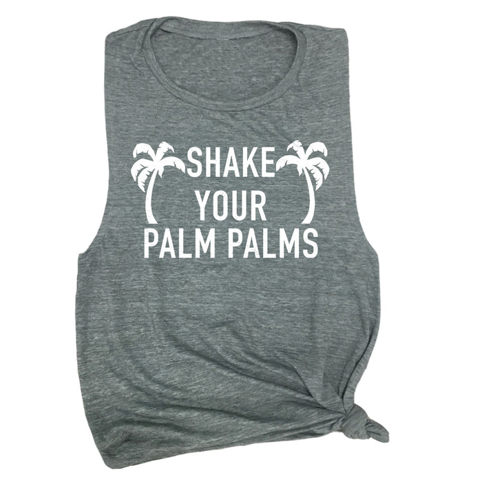 Shake Your Palm Palms Muscle Tee