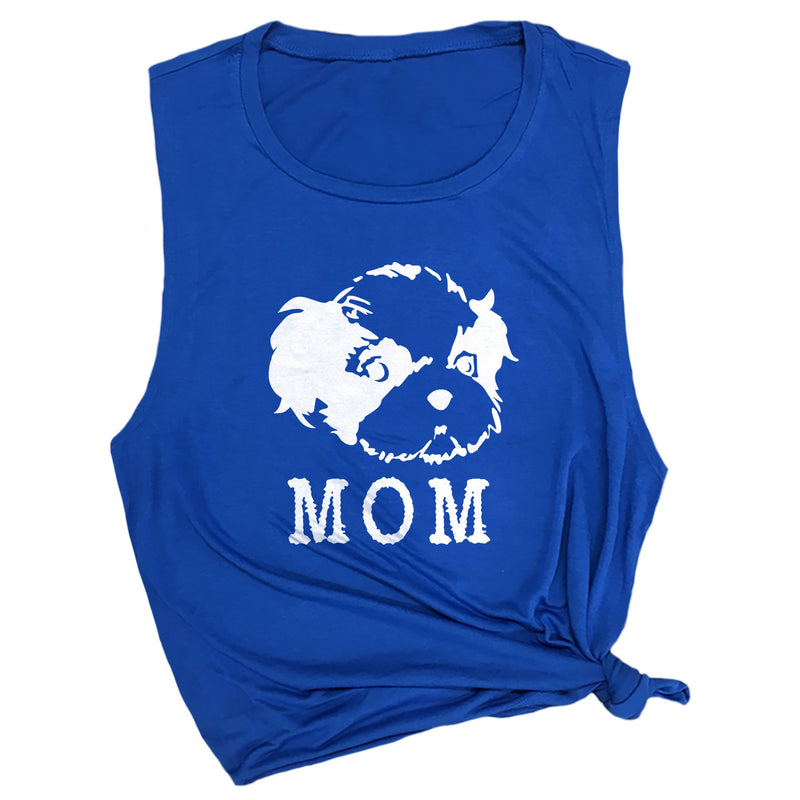 Shih Tzu Mom Muscle Tee