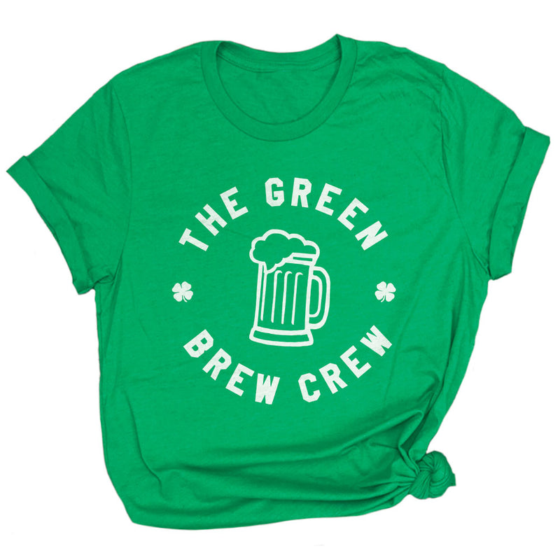 Funny Beer Drinking St Paddys Day Unisex Tee Shirt