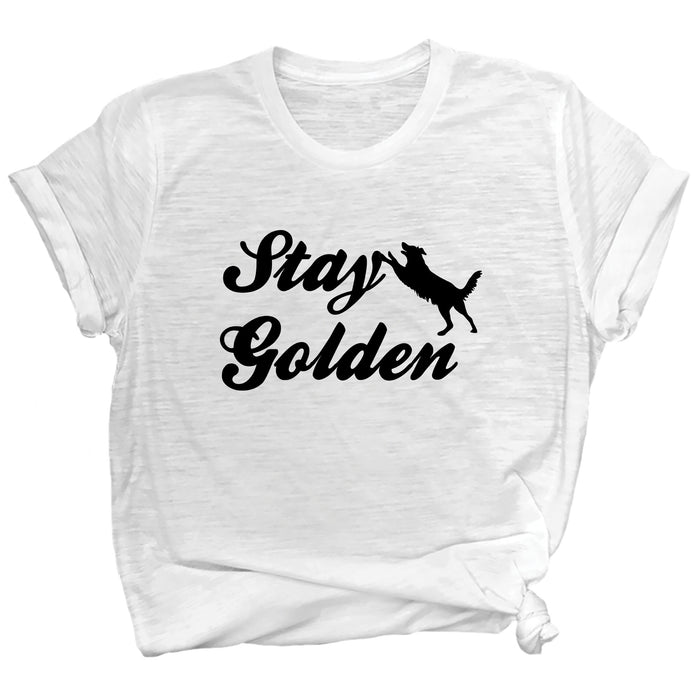 Stay Golden Basic Tee