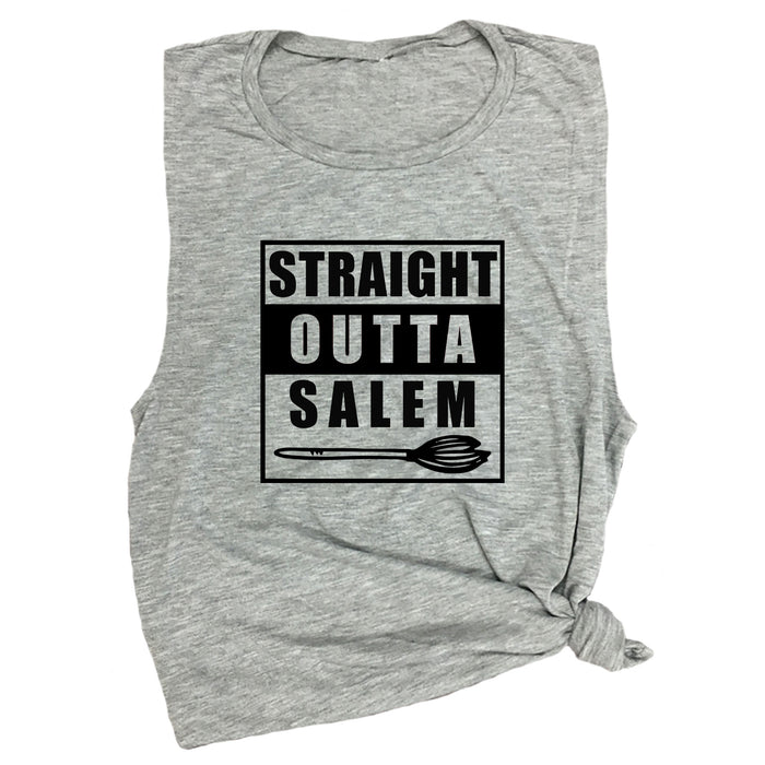 Straight Outta Salem Muscle Tee