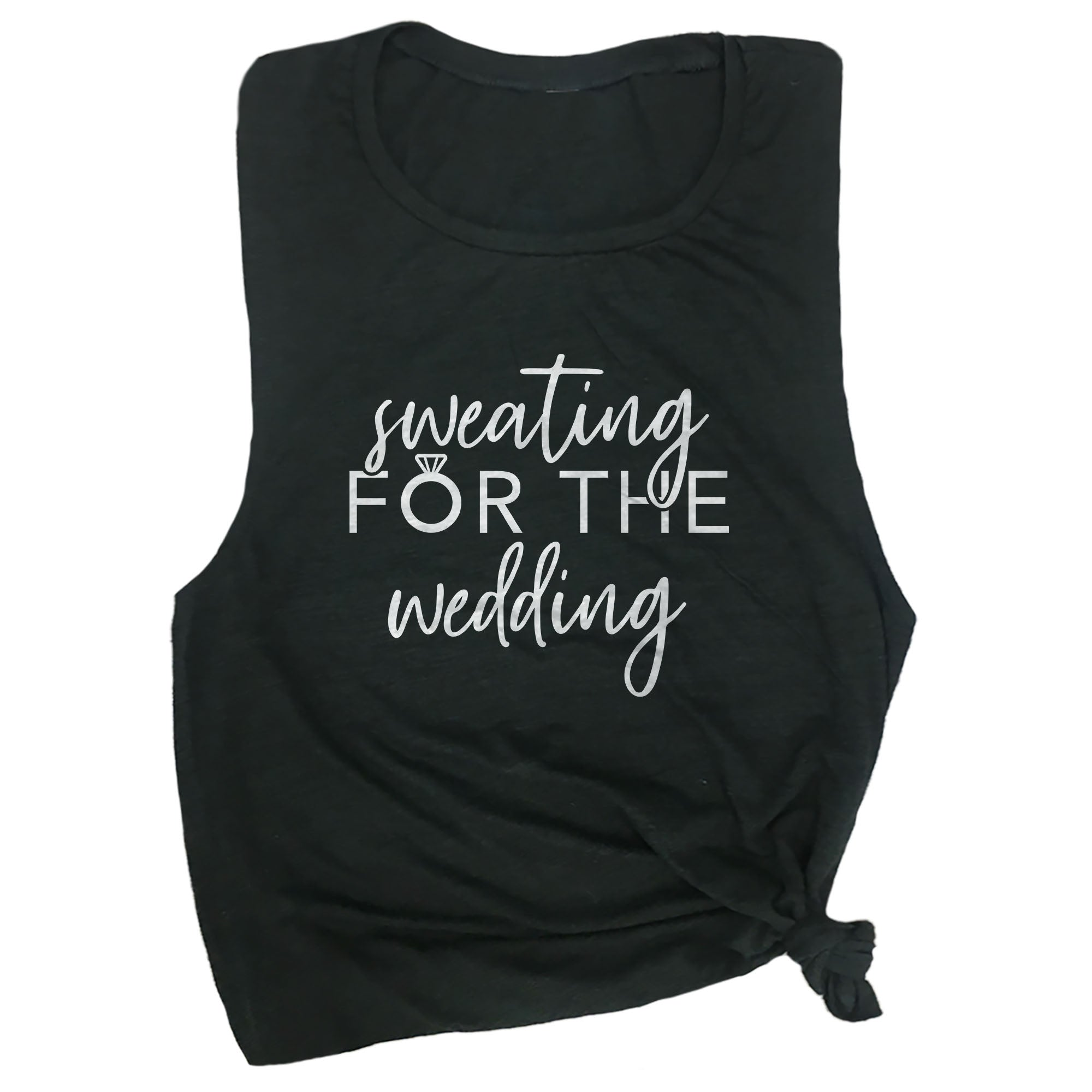 Sweating For The Wedding Muscle Tee