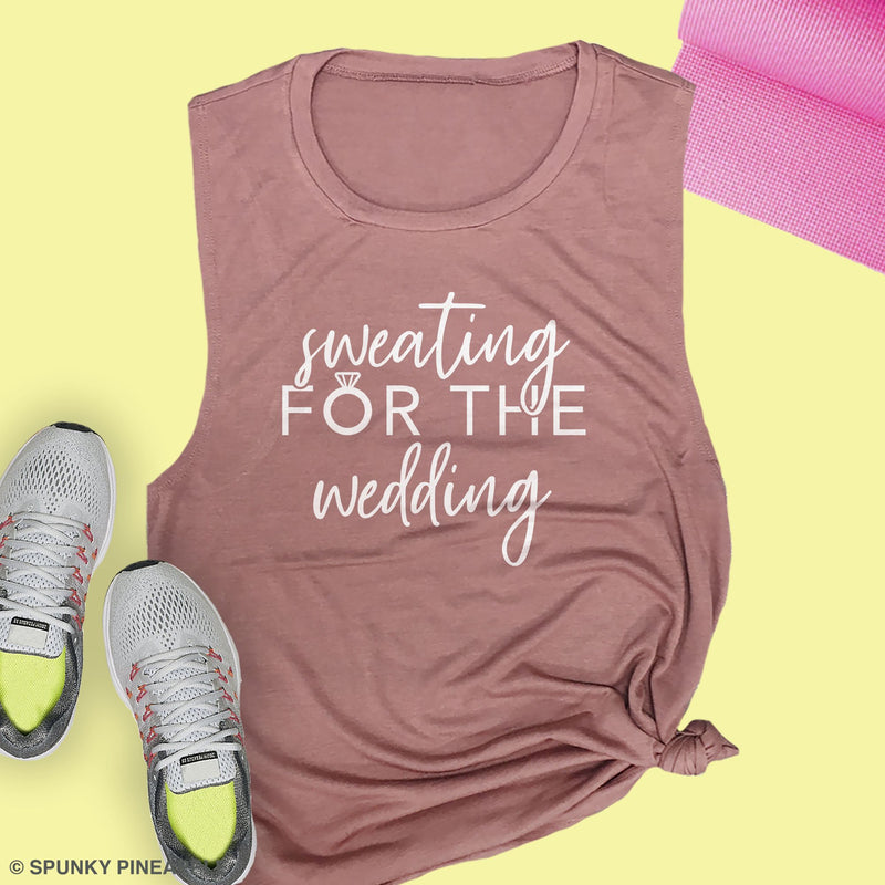 Bachelorette Pre Wedding Workout Tanks for Women