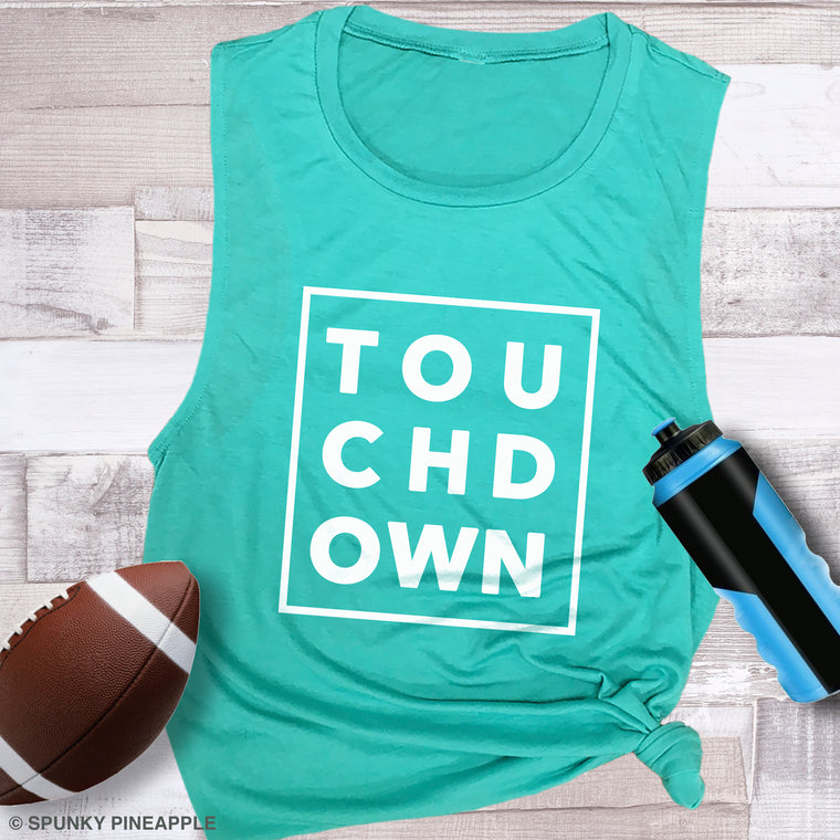 Touchdown Muscle Tee