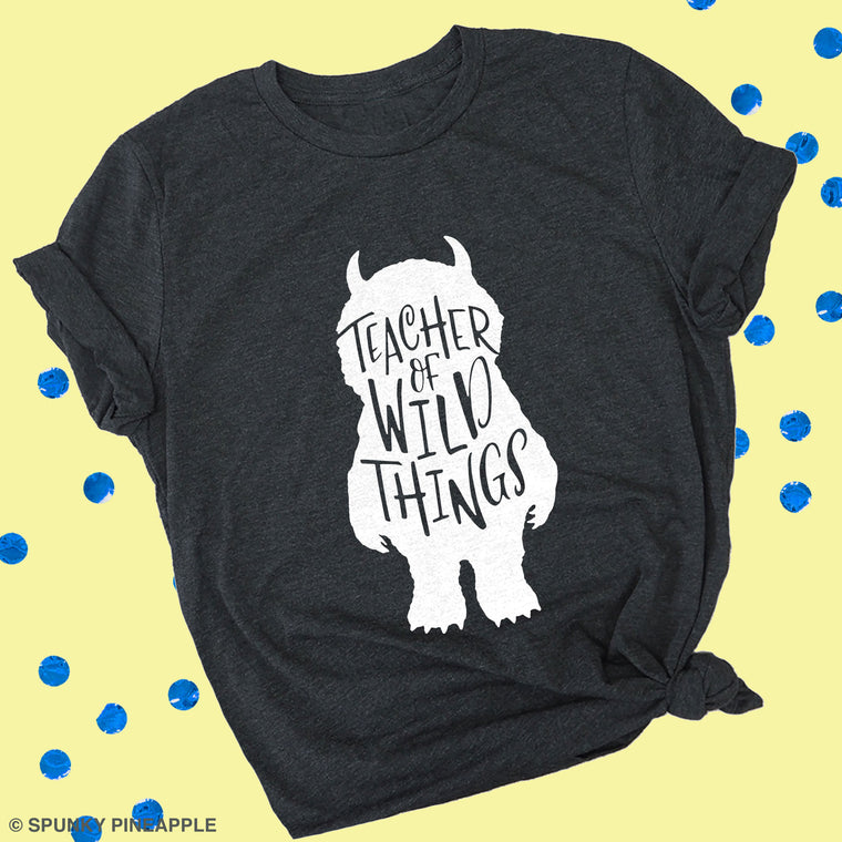 Teacher of Wild Things Premium Unisex T-Shirt
