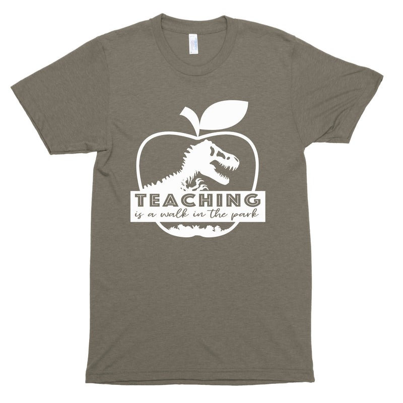 Teaching Is A Walk In The Park Premium Unisex T-Shirt