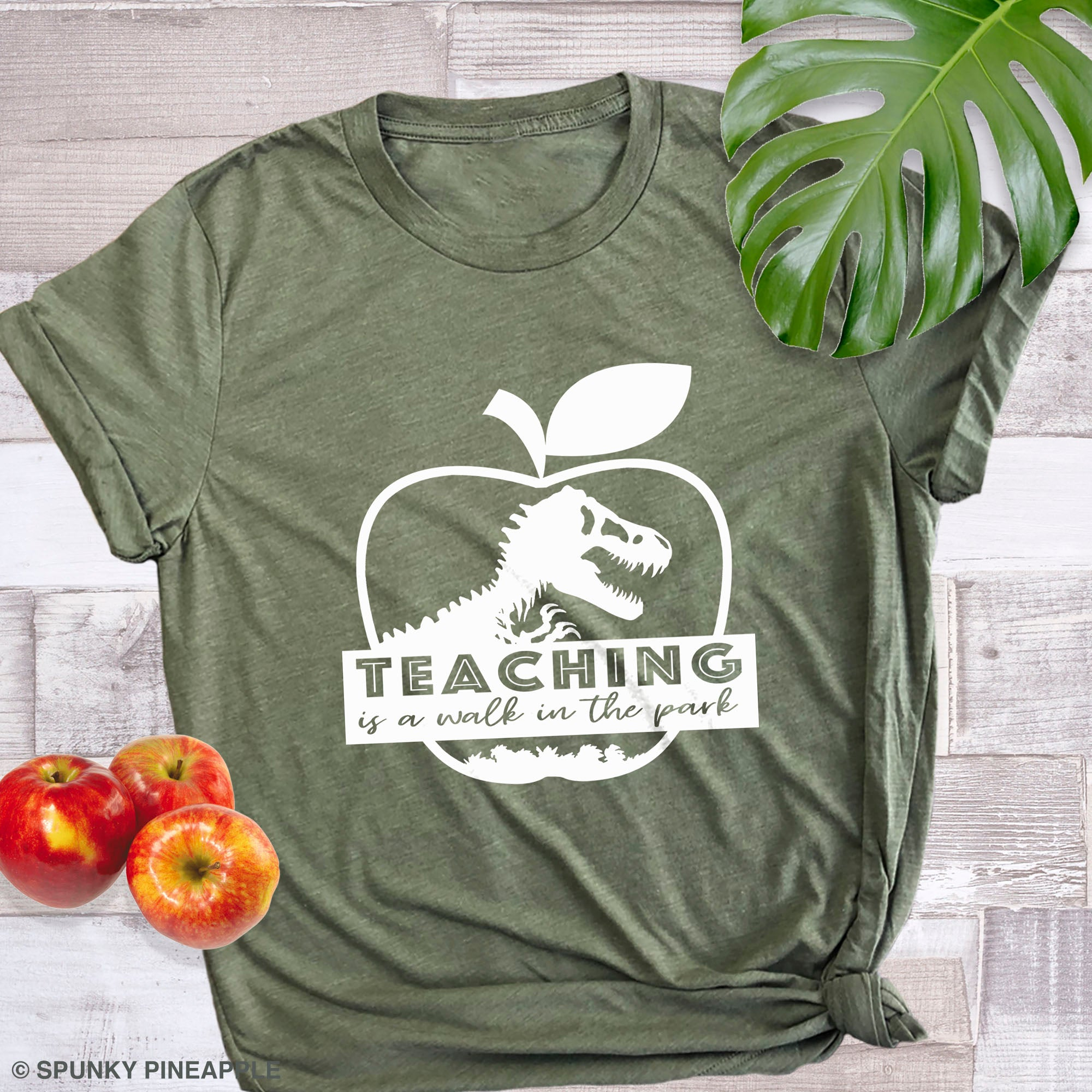 Teaching Is A Walk In The Park Back To School Teacher Humor Shirt