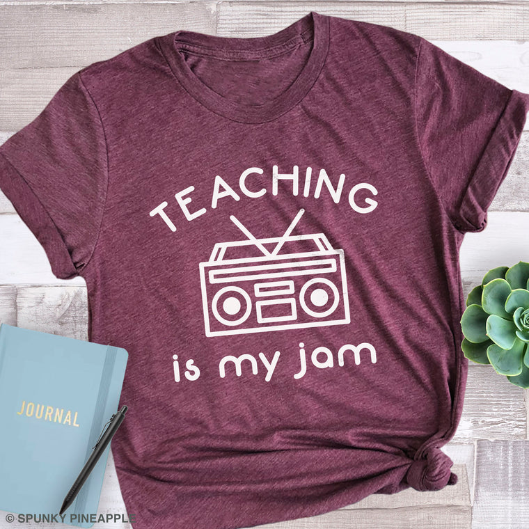 Teaching Is My Jam Premium Unisex T-Shirt