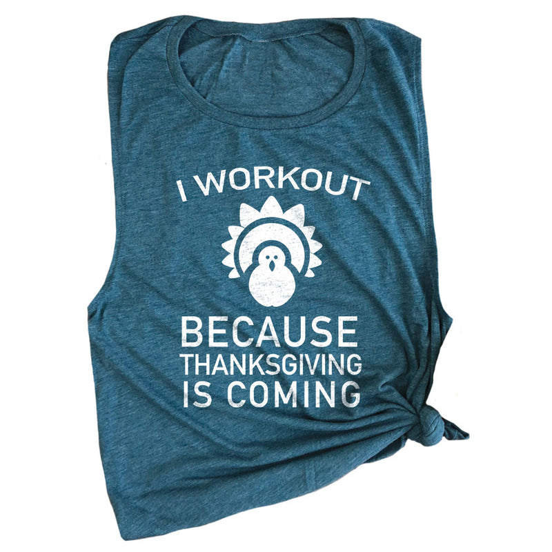 Thanksgiving Workout Muscle Tee