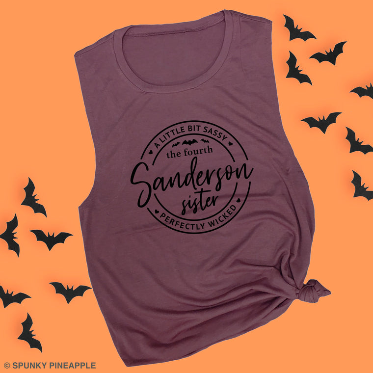 The Fourth Sanderson Sister Muscle Tee