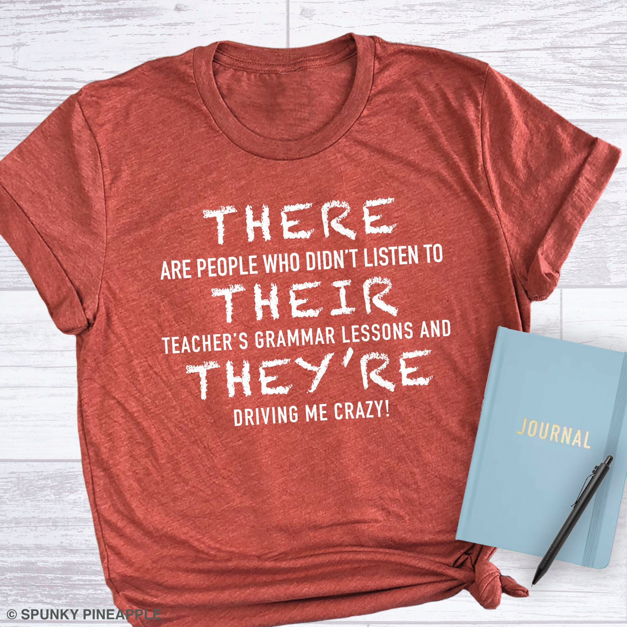 There, Their, They're Teacher Humor Back To School Shirt