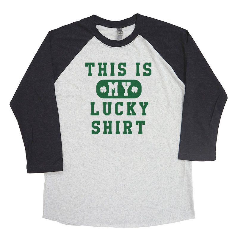 This is My Lucky Shirt Raglan Tee