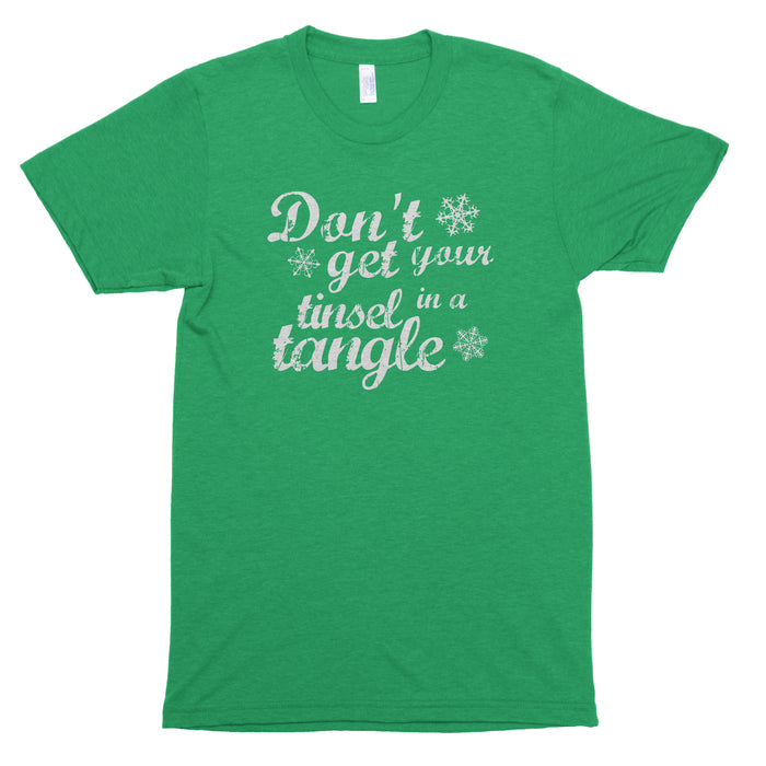 Don't Get Your Tinsel in a Tangle Basic Tee
