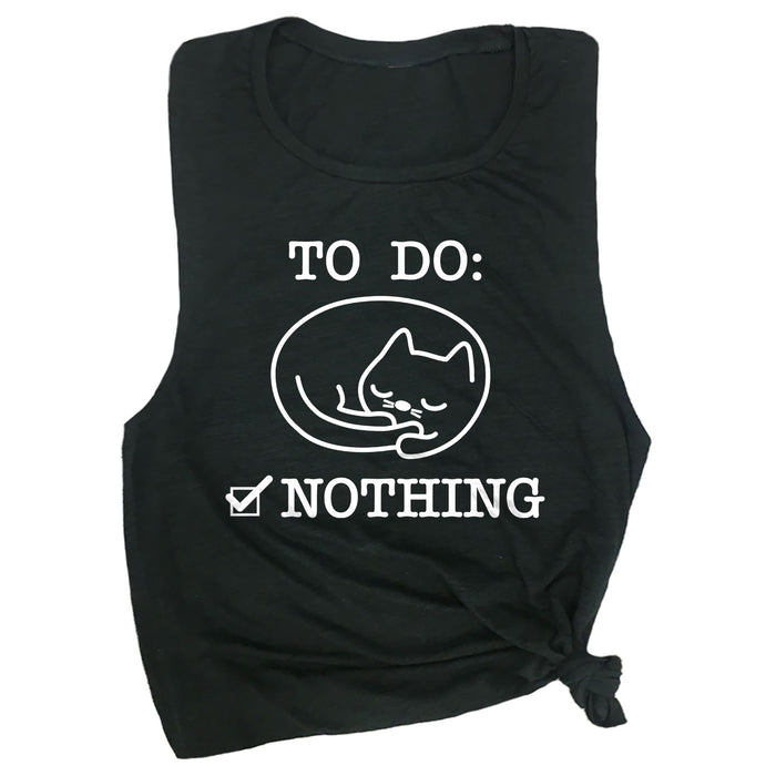 To Do: Nothing Muscle Tee